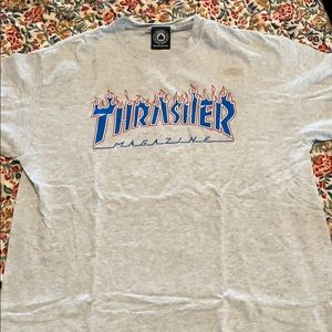 Thrasher logo t shirt